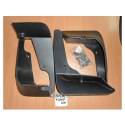 Брызговики на Тойоту Камри 40 оригинал (TOYOTA) PZ416V396100