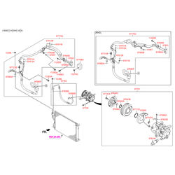 Трубка Системы Охлаждения б/у (Hyundai-KIA) 977752Y550