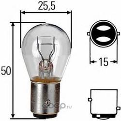 Лампа накаливания (Hella) 8GD002078121