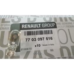 Лампа (RENAULT) 7703097516