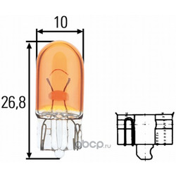 Лампа накаливания (Hella) 8GP003594541