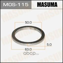 Кольцо уплотнительное глушителя (Masuma) MOS115