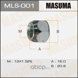 Гайка колесная (Masuma) MLS001