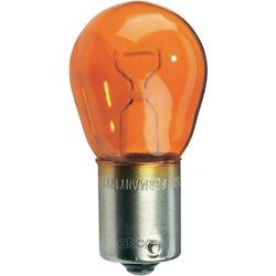Лампа накаливания PY21W (жёлтая), 12V 21W, BAU15s (Osram) 7507