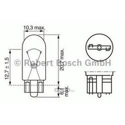 Лампа накаливания, фонарь указателя поворота (Bosch) 1987302241