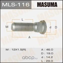 Шпилька колесная (Masuma) MLS116