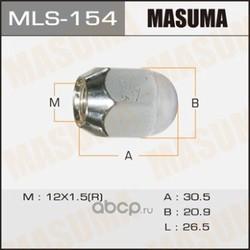 Гайка колесная (Masuma) MLS154