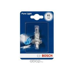 "Лампа галоген"" Pure Light H1"" 12В 55Вт (Bosch) 1987301005"