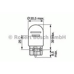 ЛАМПОЧКА (Bosch) 1987302252