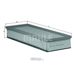 Воздушный фильтр (Mahle/Knecht) LX16571