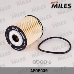 Фильтр масляный FORD FOCUS/MONDEO/TRANSIT 2.0D-3.2D/PEUGEOT 206-407 1.1-2.0 (Miles) AFOE039
