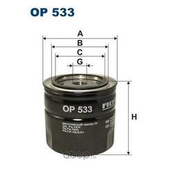 Фильтр масляный Filtron (Filtron) OP533