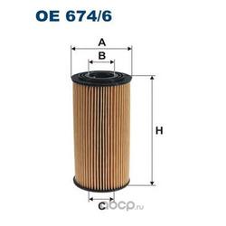 Фильтр масляный Filtron (Filtron) OE6746