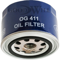 Фильтр масляный двигателя (Goodwill) OG411