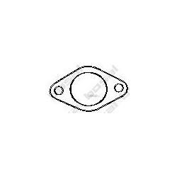 Уплотнительное кольцо, труба выхлопного газа (Bosal) 256789