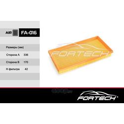 Фильтр воздушный (Fortech) FA016