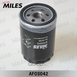 Фильтр масляный AUDI 80/100/A4/A6/VW G3/PASSAT 1.6-4.2 (Miles) AFOS042