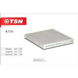 Фильтр салона (TSN) 9751