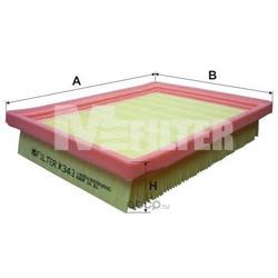 Фильтр воздушный (M-Filter) K343