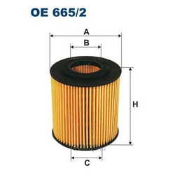 Фильтр масляный Filtron (Filtron) OE6652