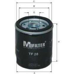 Фильтр масляный (M-Filter) TF28