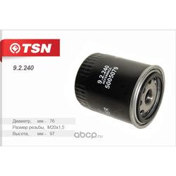 Фильтр масляный (TSN) 92240