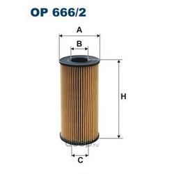 Фильтр масляный Filtron (Filtron) OE6662