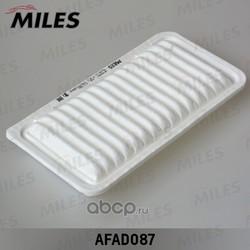 Фильтр воздушный TOYOTA AVENSIS 1.6-2.4 03-09/COROLLA 1.4-1.8 02-06 (Miles) AFAD087