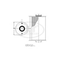 Топливный фильтр (SCT) ST769