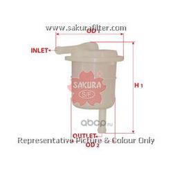 Фильтр топливный (Sakura) FS1802