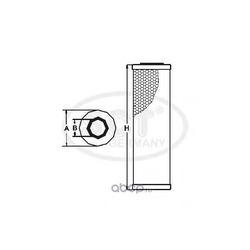 Масляный фильтр (SCT) SH435P