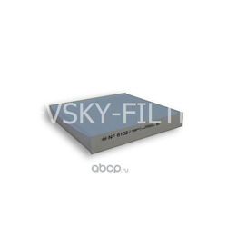 Фильтр очистки воздуха салона (NEVSKY FILTER) NF6102