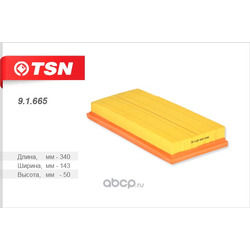 Фильтр воздушный (TSN) 91665