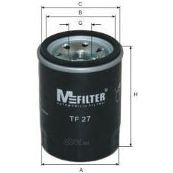 Фильтр масляный (M-Filter) TF27