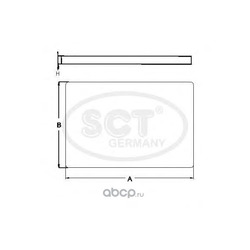 Салонный фильтр (SCT) SA1283