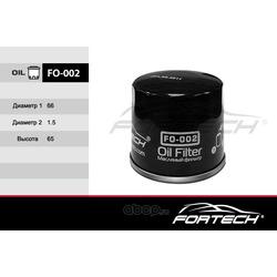 Фильтр масляный (Fortech) FO002