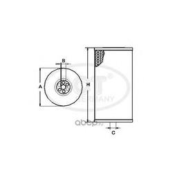 Топливный фильтр (SCT) ST756