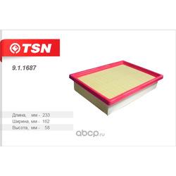 Фильтр воздушный (TSN) 911687