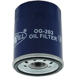 Фильтр масляный двигателя (Goodwill) OG203