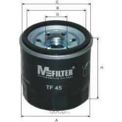 Фильтр масляный (M-Filter) TF45