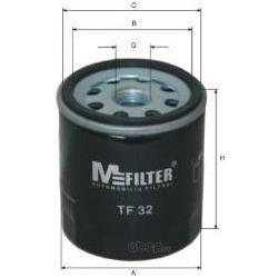 Фильтр масляный (M-Filter) TF32