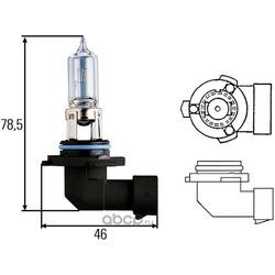 Лампа накаливания, основная фара (Hella) 8GH005635121