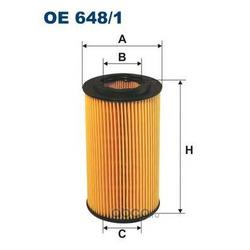 Фильтр масляный Filtron (Filtron) OE6481