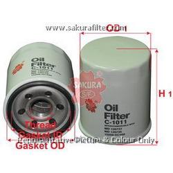 Фильтр масляный (Sakura) C1011