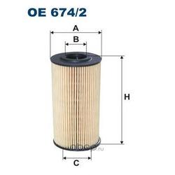 Фильтр масляный Filtron (Filtron) OE6742