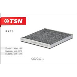 Фильтр салона угольный (TSN) 9712