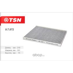 TSN фильтр салона уголь (TSN) 97872