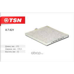 Фильтр салона (TSN) 97621