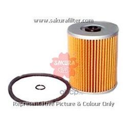 Фильтр топливный элемент (Sakura) F1004