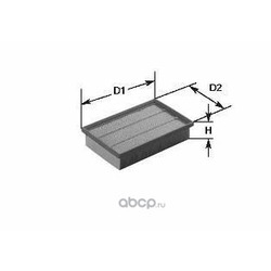 Воздушный фильтр (Clean filters) MA1072